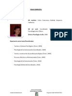 Eq. tutores psicodiagnóstico clínico 2011