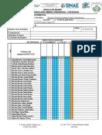 Escalas y Listas 2021