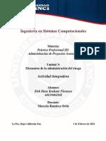 PP II- Admin de Proyectos Avanzada.hans Krakaur. Act Int 3