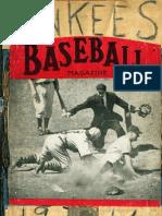 BJC's 1946 NY Yankee Scrapbook