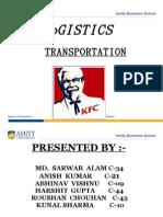 KFC-Transportation