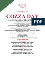 COZZA DAY