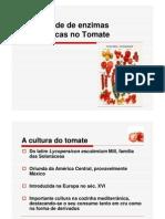 Actividade enzimática no tomate