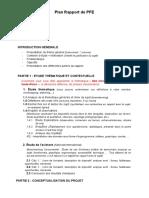 Plan Rapport de Pfe 2021