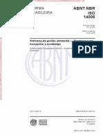 ISO 14006 de 122014 - Sistemas da gestão ambiental - Diretrizes para incorporar o ecodesign