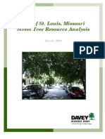 City of Saint Louis Street Tree Analysis_2009
