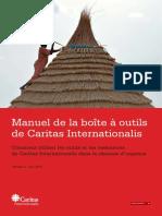 517-Caritas Internationalis Toolkit for Emergency Response Manual (French)