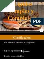 Lípidos Simples y Complejos