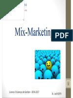 Cours Fondements Mix MarketingDEF