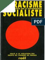 Le Racisme Socialiste FRENCH