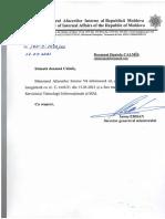 Răspuns MAI pentru ZdG la solicitarea informațiilor privind candidații electorali vizați în dosare penale