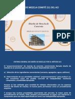 SESIÓN 06 - DISEÑO DE MEZCLA COMITE 211 DEL ACI