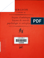 Henri Bergson - Leçons d'esthétique_ Leçons de morale, psychologie et métaphysique - Cours II (1992, Presses Universitaires France) - libgen.lc