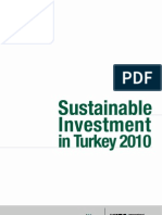 Sustainable Investment in Turkey 2010