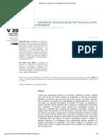 Metodologias ergonômicas na avaliação de ambiente construído