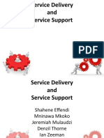 Service Delivery and Support V2.1