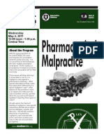 MoBarCLE Pharmaceutical Malpractice