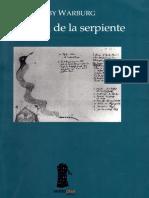 Aby Warburg - El Ritual de la Serpiente-Editorial Sexto Piso (2004)