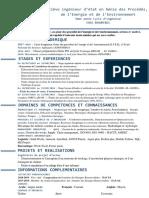 Curriculum vitae - NACHAT Ossama 1