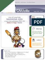 GNUzilla 08, avgust 2005