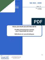 NA 924_Feuille souple_Bitume
