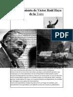 El Pensamiento de Víctor Raúl Haya de la Torre