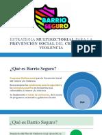 PPT Barrio Seguro