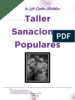 Taller de Sanaciones Populares Flor de Loto