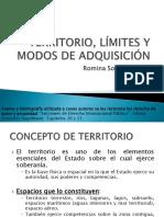 TERRITORIO, LÍMITES Y MODOS DE ADQUISICIÓN - Romina Arcos