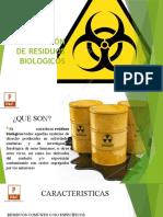 DISPOSICIÓN DE RESIDUOS BIOLOGICOS