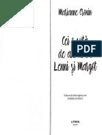 Cei o suta de ani ai lui Lenni si Margot - Marianne Cronin
