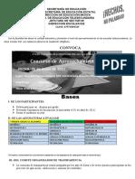 CONVOCATORIAS 2011 APROVECHAMIENTO DE ZONA