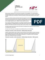 Low-Power-Design-Basics