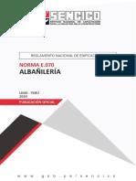 Norma E.070 Albañilería