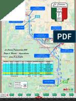 Plano de Ruta Etapa 4 La Carrera Panamericana 2021