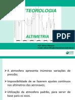 Aula - 08 - Altimetria