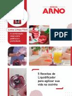Minha Arno E Book 5 Dicas de Liquificador