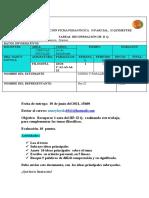 1ros. Planificación Ficha Pedagógica II Parcial Iiq