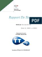 Rapport de Stage Tt