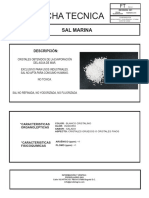 SAL MARINA - FICHA TECNICA 2019