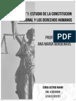 Estudio de la Constitución Nacional y los Derechos Humanos