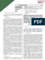 Midagri Resolucion Ministerial 0177-2021 proyecto sello producción orgánica