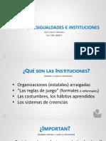 COVID 19, Desigualdades e Instituciones