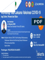 Klik Disini - Workshop Tata Laksana Vaksinasi COVID-19 - 8 Mei 2021