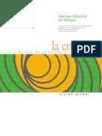 PNUD Informe mundial energía