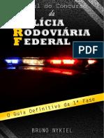 Manual Do Concurso Da Polícia Rodoviária Federal