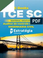Consolidado eBook Auditor de Controle Externo Engenharia Civil TCE SC