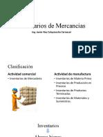 Inventarios de Mercancías
