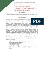 Lulle Raymond - Le pseudo-testament __