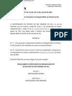 _Bizu 42, DECRETO Nº 43.245 - RDBM (1)